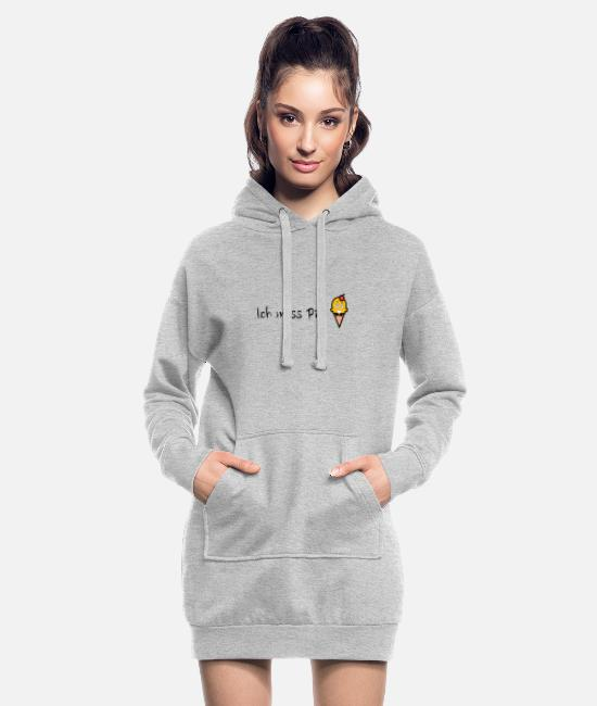 Cherry Hoodies & Sweatshirts - Making a pee, a funny woman-giving gift - Women's Hoodie Dress heather grey