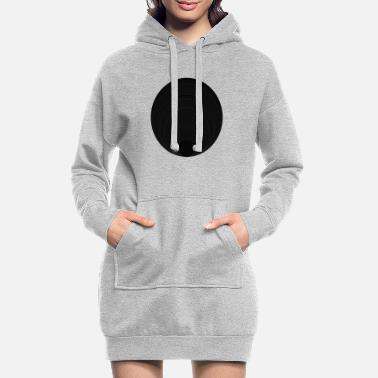 Circle Circle in circle in circle - Women's Hoodie Dress