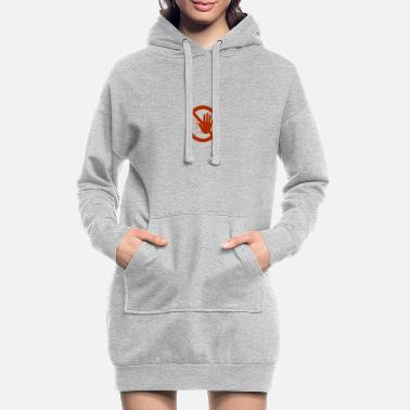 Caution sign - Women's Hoodie Dress