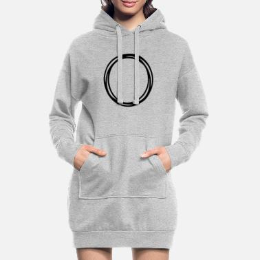 Circle Circles and circles - Women's Hoodie Dress