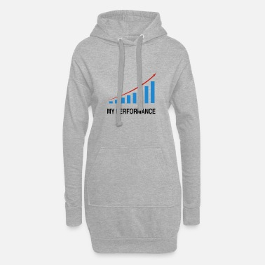 Performance Mes performances commerciales - Robe sweat Femme