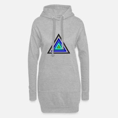 Triangle Triangles en triangle - Robe sweat Femme