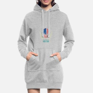 Patriote Patriots USA Patriots Day - Robe sweat Femme