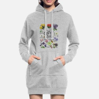 Change Save the Bees Art Gift - Women's Hoodie Dress