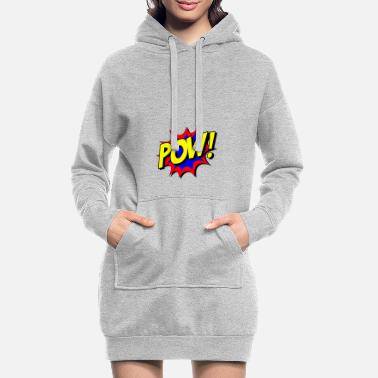 Comic superheld comic - Frauen Hoodiekleid