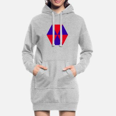 abstract - Women's Hoodie Dress
