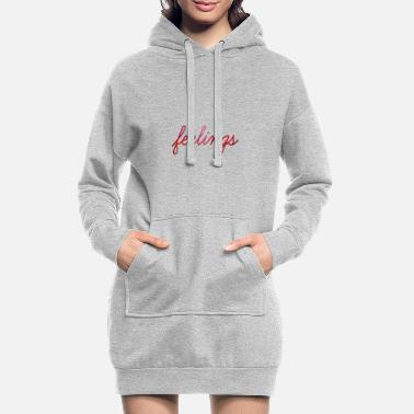 Sentiment sentiments - Robe sweat Femme