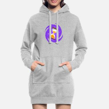 HOURGLASS - Women's Hoodie Dress