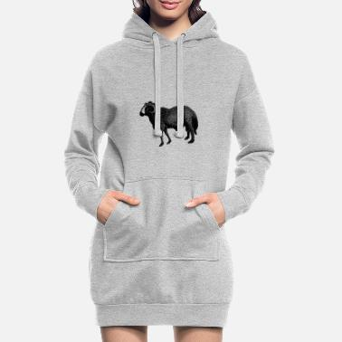 Vector ram vector - Women's Hoodie Dress