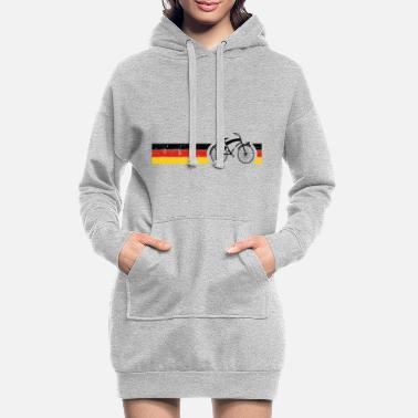 National Vélo National Colors National Germany Gift - Robe sweat Femme