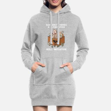 Stylo Pen and Paper Dog RPG Pnp Roleplay Dogs Meme - Robe sweat Femme