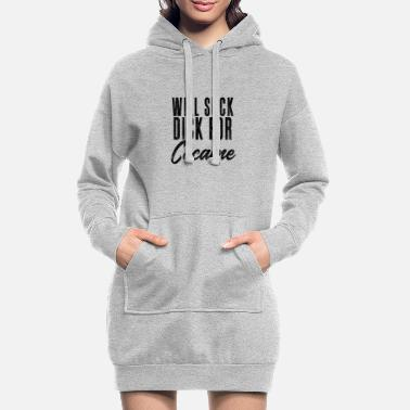 Alcohol Will Suck Dick for Cocaine graphic by Cocaine - Women's Hoodie Dress