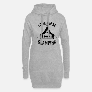 Luxury camping - Women's Hoodie Dress