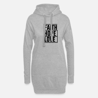 Preghiera Faith Hope Love - Christian - Vestito felpa donna