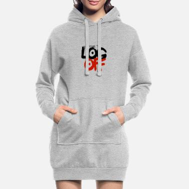 It's time to log off - Women's Hoodie Dress
