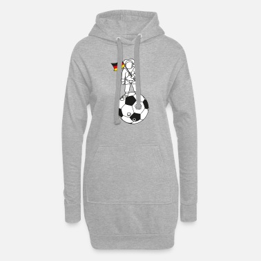 Schland To the Moon Germany! - Women's Hoodie Dress