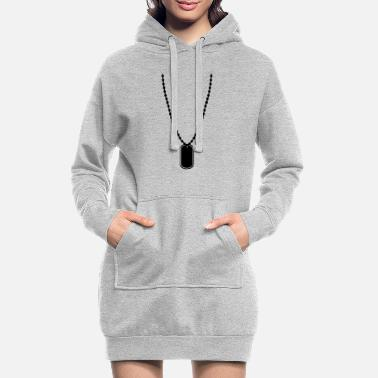 Tag Dog tag - Women's Hoodie Dress