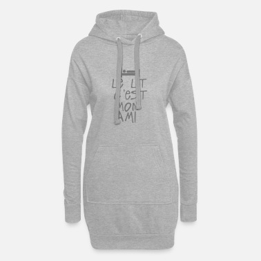 Citations le lit est mon ami citation - Robe sweat Femme
