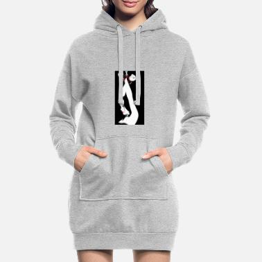 Slave Female Tied slave BDSM - Women's Hoodie Dress