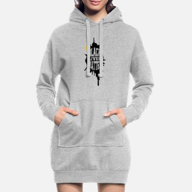 Rap Black Lives Matter Man - Women's Hoodie Dress