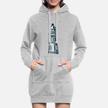 Crook Lighthouse crooked - Women's Hoodie Dress