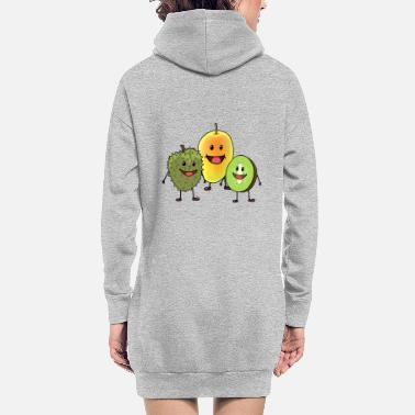 Fruit Fruits fruits fruits - Robe sweat Femme