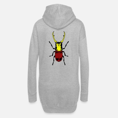 Insecte Insecte insecte coléoptère - Robe sweat Femme