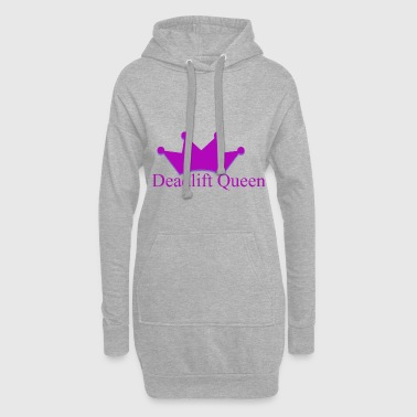 Deadlift queen - Sweat-shirt à capuche long Femme