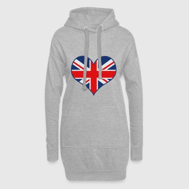 I LOVE UK - Hoodie Dress