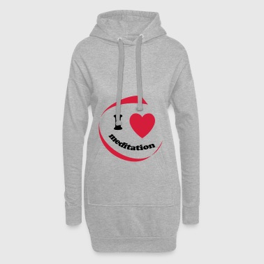 I love meditation - Hoodie Dress
