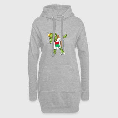 Madagascar Dabbing turtle - Hoodie Dress