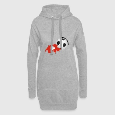 Team Switzerland Soccer Fan Shirt Mug - Hoodie Dress