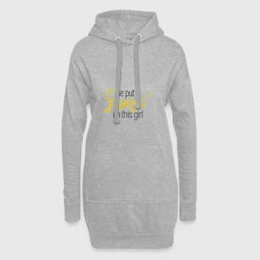 he gave her the ring gift bridal wedding JGA - Hoodie Dress