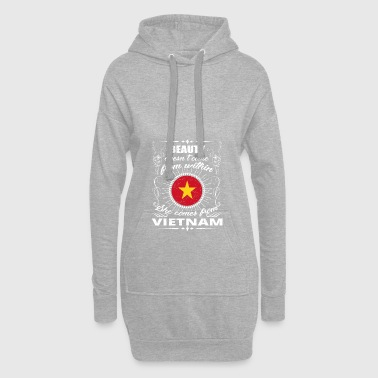 beauty comes from VIETNAM png - Hoodie Dress