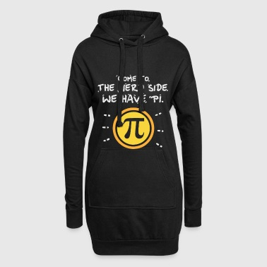 Geschenk - come to the nerd side - Pi - Mathematik - Długa bluza z kapturem
