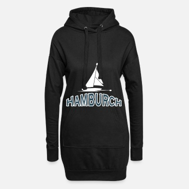 Anker Haven van Hamburg Hamburch - Hoodiejurk