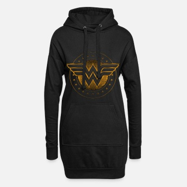 Woman DC Comics Wonder Woman Logo Étoilé - Robe sweat Femme