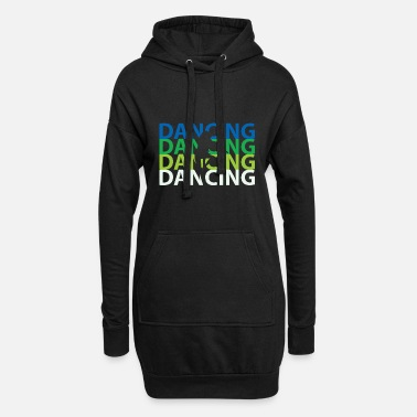 Break Dance Baile break dance - Sudadera vestido con capucha