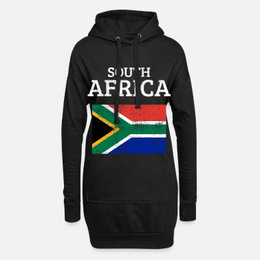 South Africa South Africa - Hoodie Dress