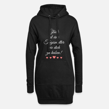 Happiness is having a childminder like you - Hoodie Dress