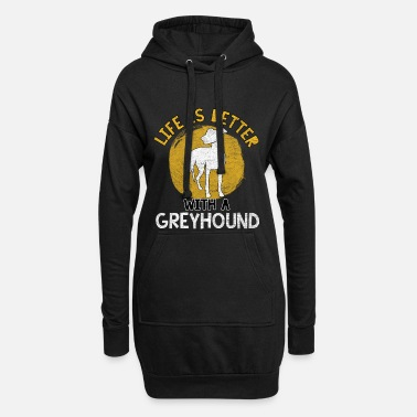 Hunting Dog Hunting greyhound hunting dog hunting dog dog sport - Hoodie Dress