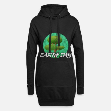 Écologique Earthday Earth et Conservation - Robe sweat Femme
