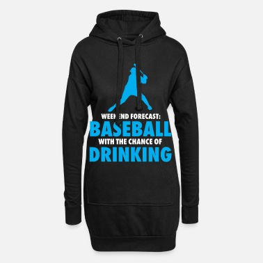 Sport Week-end de baseball - Robe sweat Femme