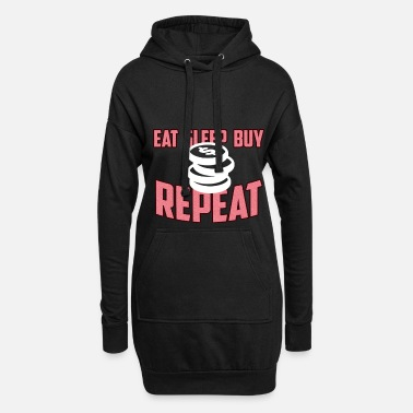 Shopping Shopping Shopping Shopping Gift - Women's Hoodie Dress