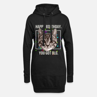 Happy Birthday Happy Birthday - Frauen Hoodiekleid