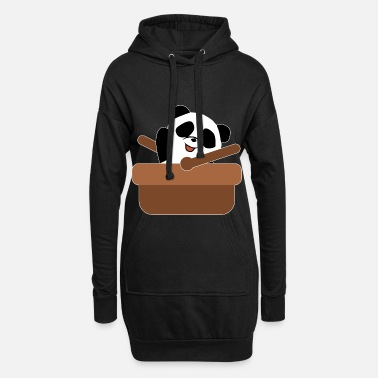 Panda Ours Mignonne Animal Bambou Ours Women XL Sweat à
