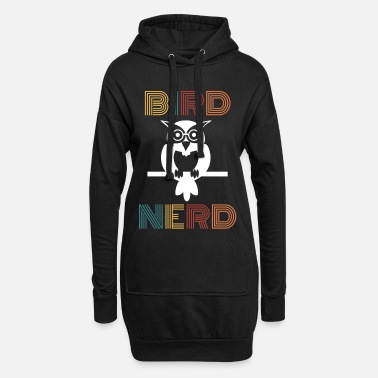 Birds Bird nerd gift bird watcher birds bird - Women's Hoodie Dress