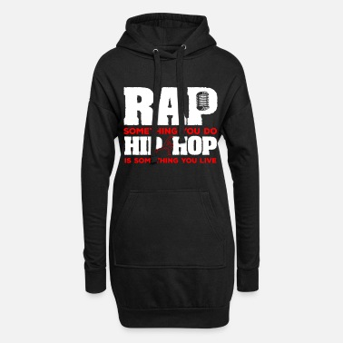 Rap Hip Hop Dance Dancing Music Rap Breakdance - Women's Hoodie Dress