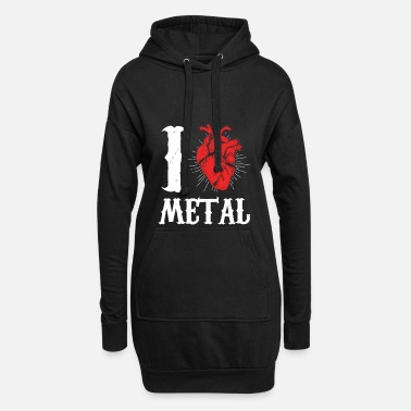 Music I love Metal Music - Women's Hoodie Dress