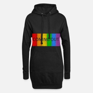 Coming Out Coming out - Women's Hoodie Dress